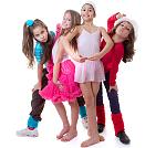 dziewczynki tancerki